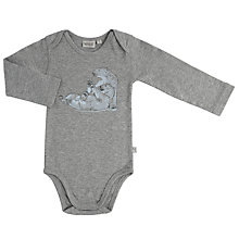 Buy Wheat Baby Long Sleeve Polar Bear Print Bodysuit Online at johnlewis.com