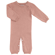 Buy Wheat Baby Knitted Playsuit Online at johnlewis.com