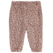 Buy Wheat Baby Printed Trousers, Purple/Multi Online at johnlewis.com