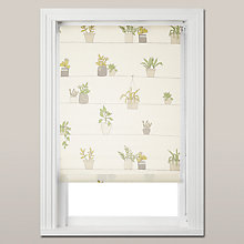 Buy John Lewis Pot Plants Daylight Roller Blind Online at johnlewis.com