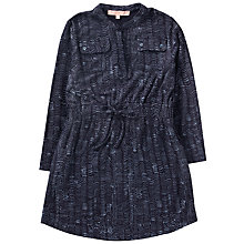 Buy Jigsaw Girls' Wave Spot Dress, Navy Online at johnlewis.com