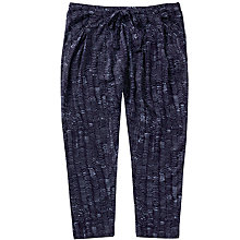Buy Jigsaw Girls' Wave Spot Trousers, Navy Online at johnlewis.com