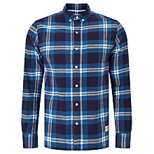 Buy Penfield Riverview Check Shirt, Blue Online at johnlewis.com