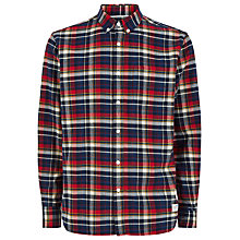 Buy Penfield Barrhead Check Shirt, Blue Online at johnlewis.com