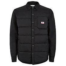 Buy Penfield Albright Down Insulated Shirt Jacket, Black Online at johnlewis.com