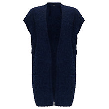 Buy Gerry Weber Textured Knit Gilet, Cobalt Online at johnlewis.com