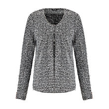Buy Gerry Weber Textured Cardigan, Grey Online at johnlewis.com