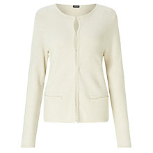 Buy Gerry Weber Basket Weave Cardigan, Marzipan Online at johnlewis.com