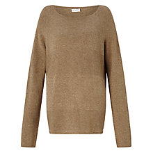 Buy Gerry Weber Slash Neck Jumper, Caramel Melange Online at johnlewis.com