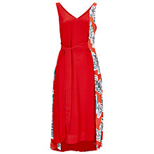 Buy Finery Harvey Scribble Dress, Red Online at johnlewis.com