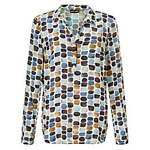 Buy Gerry Weber Printed Blouse, Multi Online at johnlewis.com