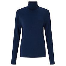 Buy Gerry Weber Roll Neck Jumper, Cobalt Online at johnlewis.com