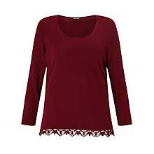 Buy Gerry Weber Lace Trim Jumper Online at johnlewis.com