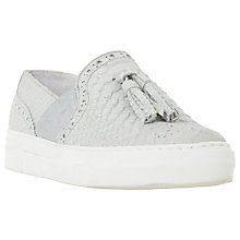 Buy Dune Etsie Tassel Slip On Trainers Online at johnlewis.com