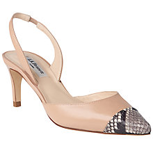 Buy L.K. Bennett Keira Sling Back Court Shoes Online at johnlewis.com