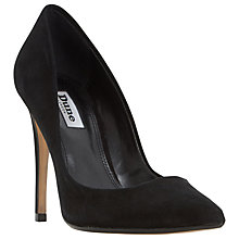 Buy Dune Aiyana Pointed Toe Court Shoes, Black Online at johnlewis.com