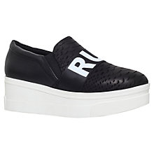 Buy KG by Kurt Geiger Lover Flatform Slip On Trainers Online at johnlewis.com