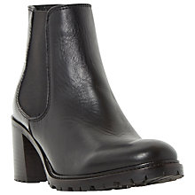 Buy Dune Podrik Block Heeled Ankle Boots Online at johnlewis.com