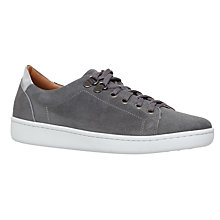 Buy Carvela Liquid Low Top Trainers, Grey Online at johnlewis.com