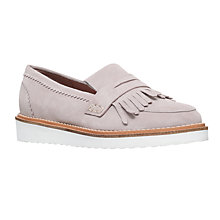 Buy KG by Kurt Geiger Kooper Fringed Loafers, Grey Online at johnlewis.com