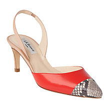 Buy L.K. Bennett Keira Slingback Court Shoes Online at johnlewis.com