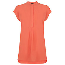 Buy Warehouse Sleeveless Pleat Back Blouse Online at johnlewis.com
