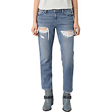 Buy AllSaints April Jeans, Washed Indigo Online at johnlewis.com