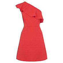 Buy Oasis One Shoulder Ruffle Dress Online at johnlewis.com