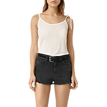 Buy AllSaints Tied Top, Chalk White Online at johnlewis.com