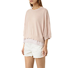 Buy AllSaints Relm Knit Top Online at johnlewis.com