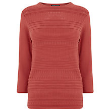 Buy Warehouse Pretty Stitch Crew Jumper Online at johnlewis.com
