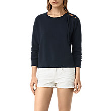 Buy AllSaints Revo Lace Up Jumper Online at johnlewis.com