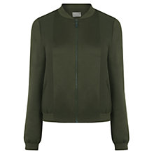 Buy Oasis Satin Matte And Shine Bomber Jacket Online at johnlewis.com