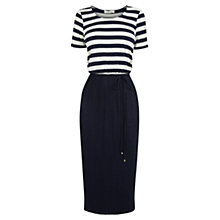 Buy Oasis Stripe Midi Dress, Multi Online at johnlewis.com