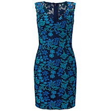 Buy Aidan Mattox Cap Sleeve Lace Cocktail Dress, Twilight/Multi Online at johnlewis.com