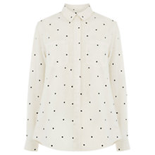 Buy Oasis Star Shirt, Multi/White Online at johnlewis.com