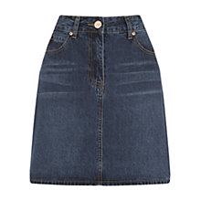 Buy Oasis Authentic 5 Pocket Skirt, Denim Online at johnlewis.com