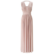 Buy Phase Eight Aldora Pleated Maxi Dress, Damask Online at johnlewis.com