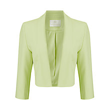 Buy Jacques Vert Edge to Edge Jacket, Light Green Online at johnlewis.com