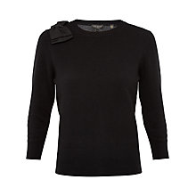 Buy Ted Baker Callah Oversized Bow Sweater Online at johnlewis.com