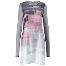 Buy Phase Eight Mailda Tunic Dress, Pink/Grey Online at johnlewis.com