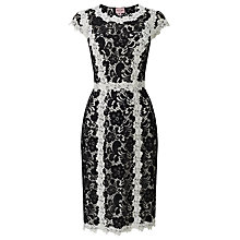 Buy Phase Eight Hanan Lace Dress, Black/Ivory Online at johnlewis.com