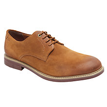 Buy Rockport Classic Break Plaintoe Shoes, Cognac Online at johnlewis.com