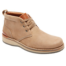 Buy Rockport Prestige Point Chukka Boots, Vicuna Online at johnlewis.com
