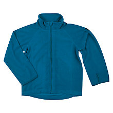 Buy Polarn O. Pyret Children's Zip Fleece Top, Blue Online at johnlewis.com