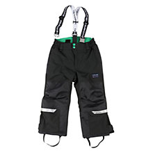 Buy Polarn O. Pyret Children's Padded Braces Trousers, Black Online at johnlewis.com