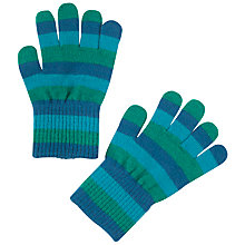 Buy Polarn O. Pyret Baby Magic Striped Gloves, Pack of 3 Online at johnlewis.com