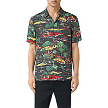 Buy AllSaints Eden Relax Fit Shirt, Multi Online at johnlewis.com
