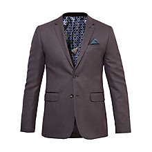 Buy Ted Baker Cabrini Mini Design Suit Jacket, Purple Online at johnlewis.com