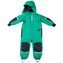 Buy Polarn O. Pyret Children's All-Weather Bodysuit, Green Online at johnlewis.com
